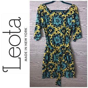 Leota | Stained Glass Kaleidoscope Dress (M)